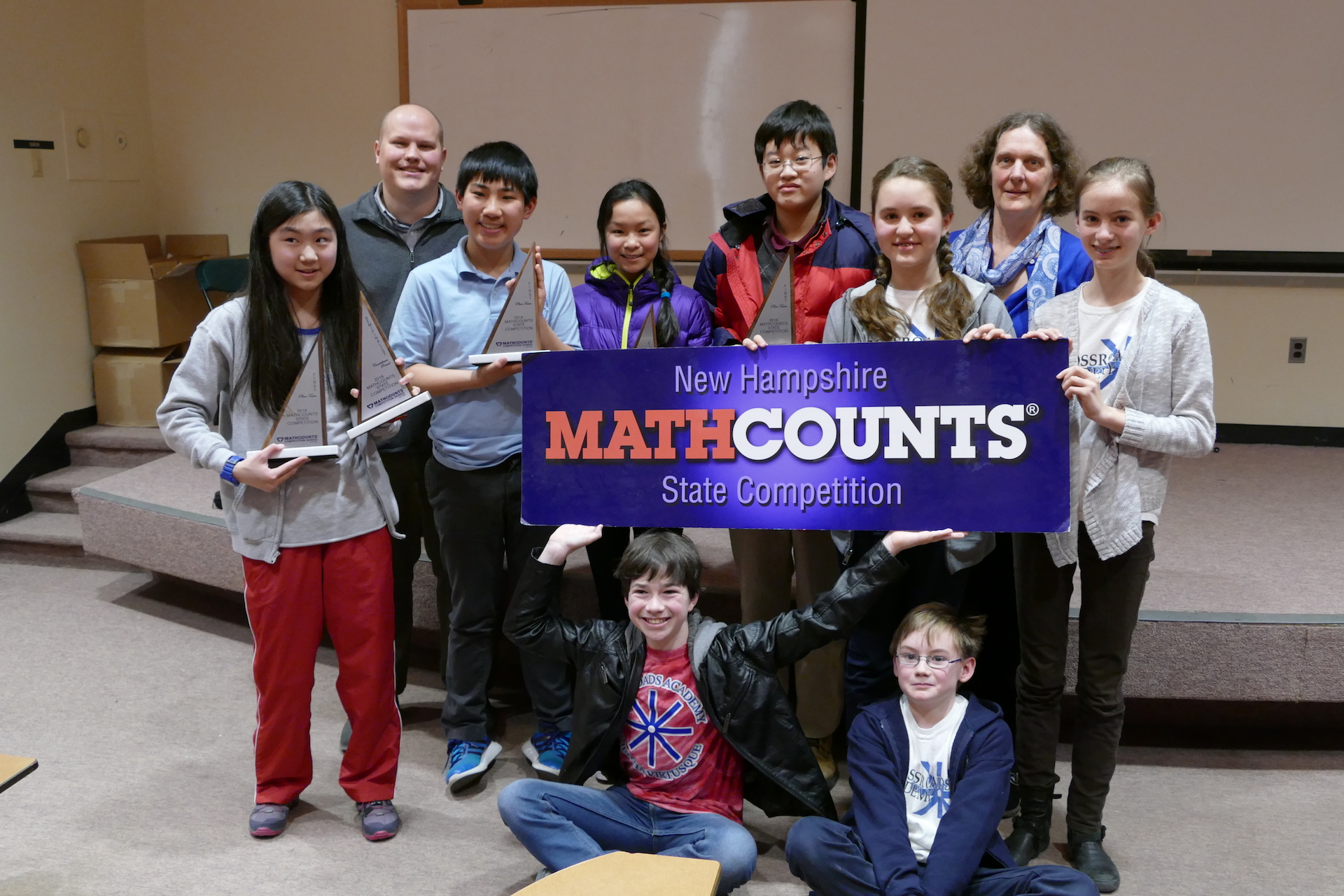 Crossroads Mathcounts Teams State